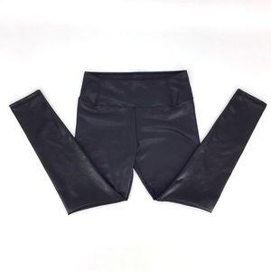 7 For All Mankind Vegan Leather Leggings, Large